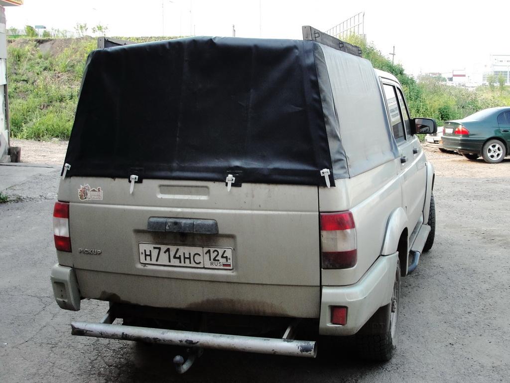 Изготовление заднего клапан на тент кузова пикапа УАЗ-Патриот