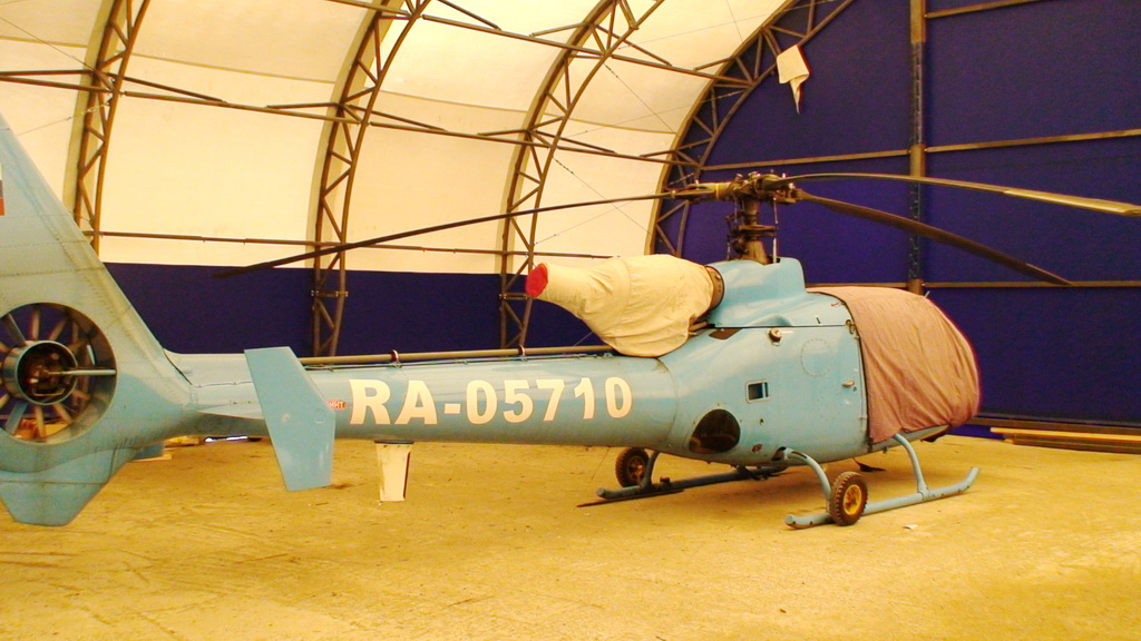 Ремонт ангара для вертолетов
