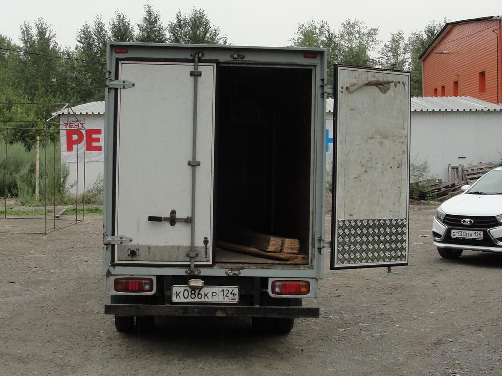 Ремонт ворот будки грузовика Kia k3000s