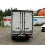 Ремонт задних ворот грузового автомобиля