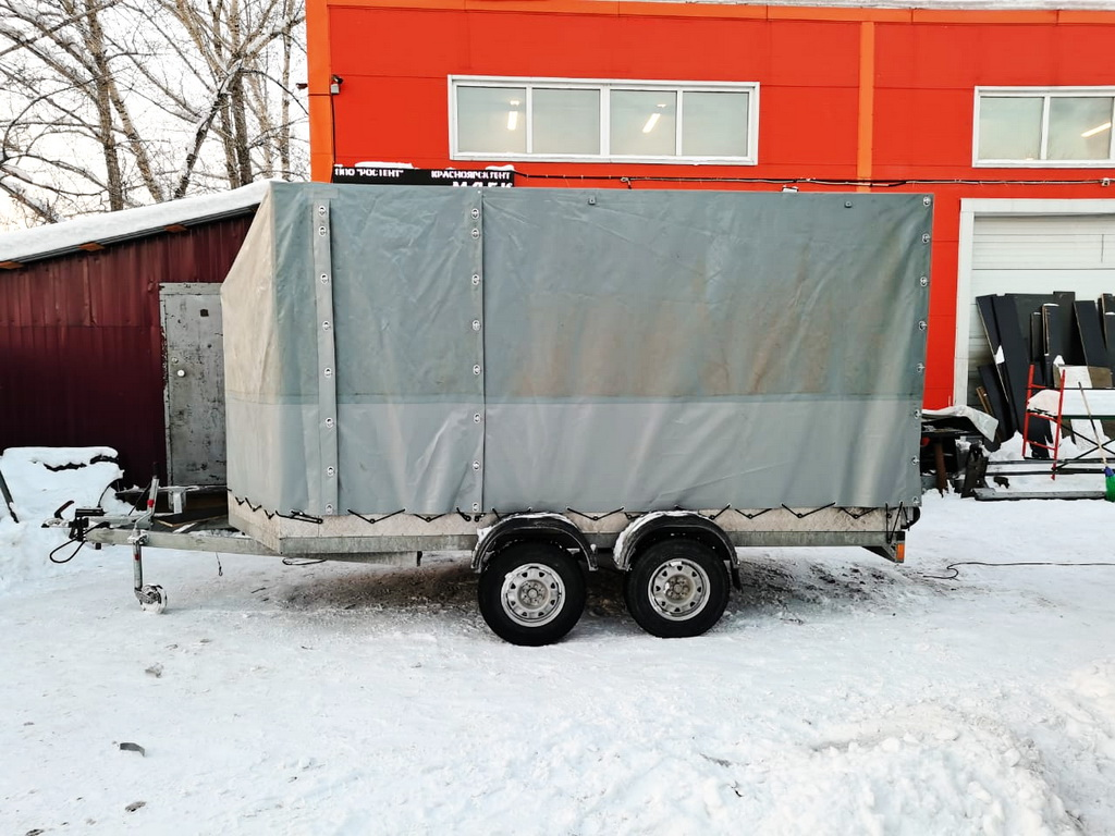Переделка тента прицепа «Аляска»