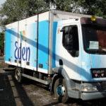 Ремонт ворот будки грузовика