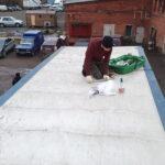 Ремонт тента крыши грузовика «Газон»